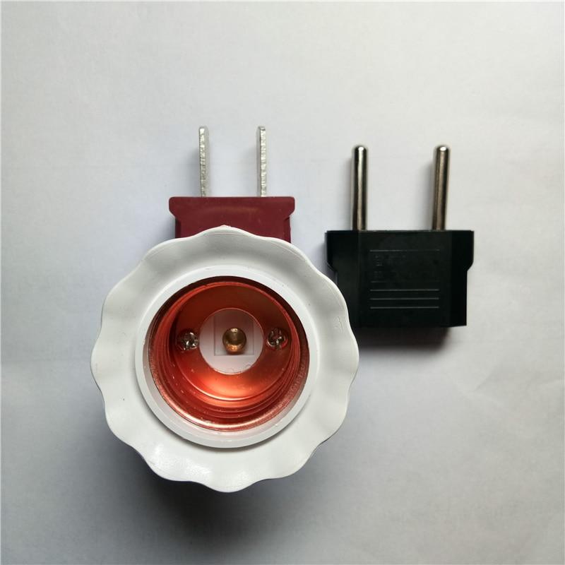 Portalámparas LED base American enchufe EE.UU. EU viaje europeo enchufe adaptador Power Electric set Kit venta al por mayor de fábrica