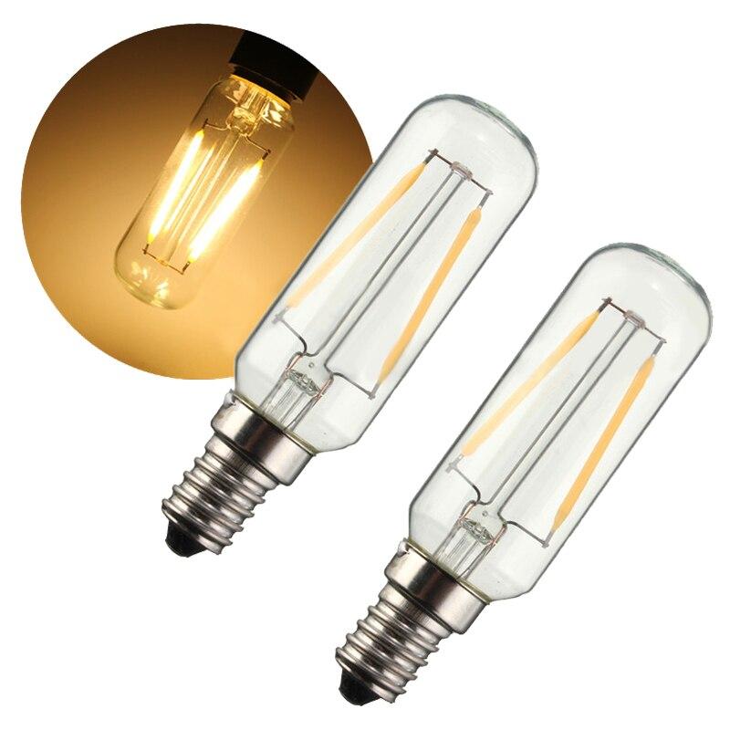 2x E14 3W LED вытяжка вентилятор лампа теплый белый
