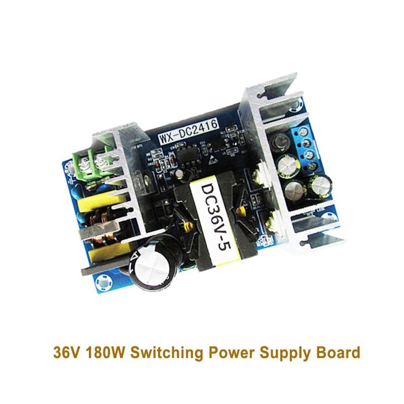 Placa de fuente de alimentación de conmutación de 36 V 180 W módulo de potencia Industrial de alta potencia placa desnuda AC-DC módulo 36V5A