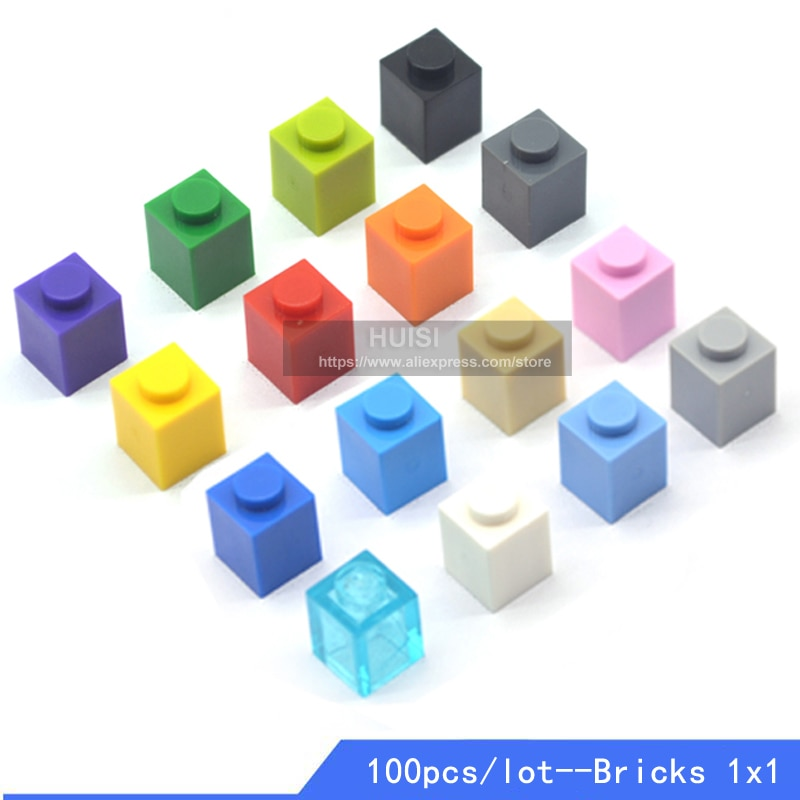 Kids Building Toys Kits Compatible With LEGOES Bricks Parts Bulk Plastic DIY Figures City Early Learning Toys Friends 100pcs/lot