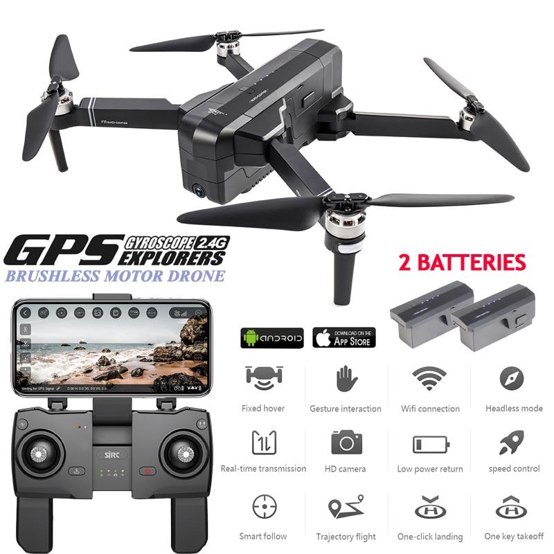 Zangão sem escova profissional do zangão de sjrc f11 gps 5g wifi rc dron 25 minutos quadcopter do zangão fpv do tempo de voo 1080 p selfie com câmera hd