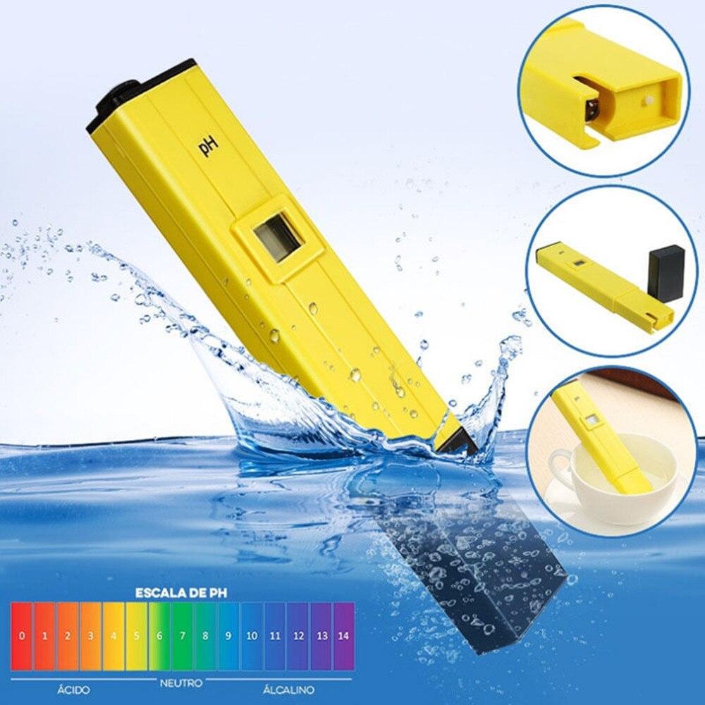 ЖК-цифровой измеритель PH тестовый er электрическая тестовая ручка жидкий PH значение детектор для аквариума бассейна воды косметический эксперимент