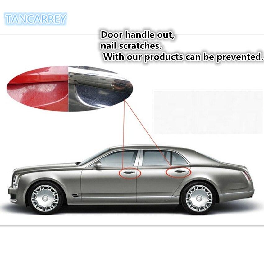 Película de protección para manija de coche, accesorios para coche, para prius 20 jetta 5 vw passat b5 l200 mitsubishi creta, 2020