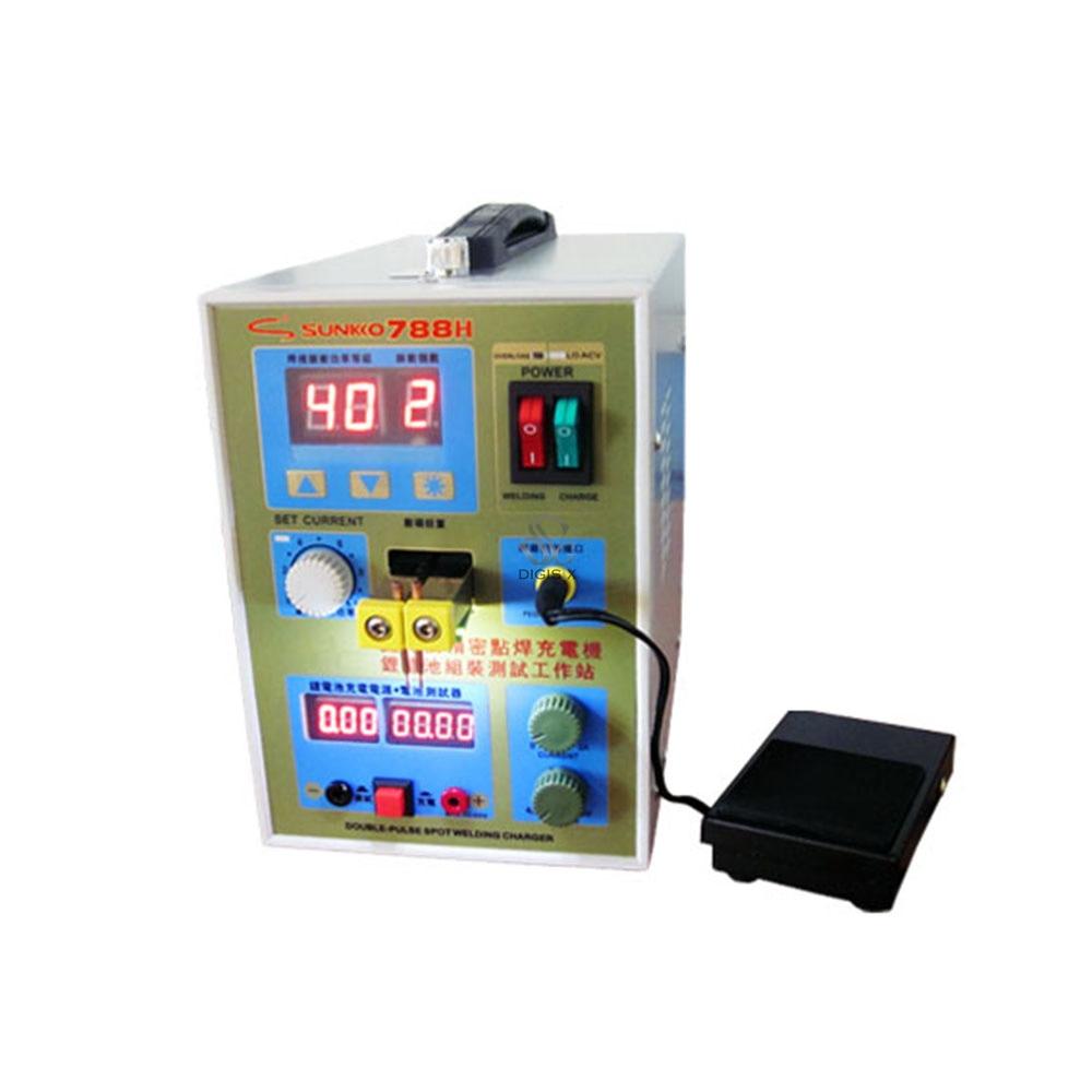 220v /110V New upgrade LED lighting 788H double pulse precision 18650 Spot Welder Battery Welder, 788h