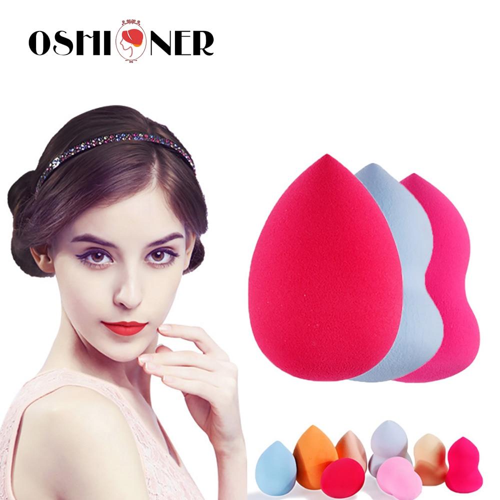 Ошионер, 4 шт., основа для основы, губка для макияжа лица, косметическая база, жидкая пудра для лица, носа, косметические инструменты для макияжа