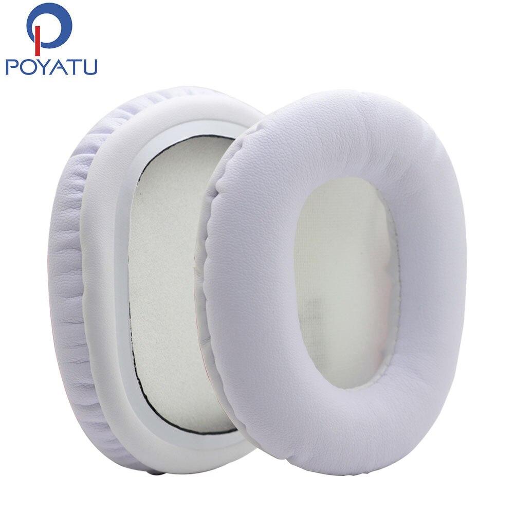 POYATU wymienne poduszki nauszne klocki pokrywa dla Audio Technica ATH-M30 ATH-M40x ATH-M50x ATH-M50 ATH-M50s Earpads dla słuchawek