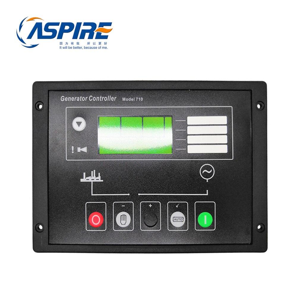 Módulo controlador de arranque automático del generador diésel 710 reemplazo del Panel de Control DSE710