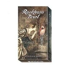 100% Original Rackham Tarot karte alle Englisch Divination tarot set bord spiel altar mit anweisung buch