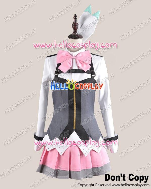 Aquarion Evol Mikono Suzushiro Traje Cosplay Uniforme Outfit H008