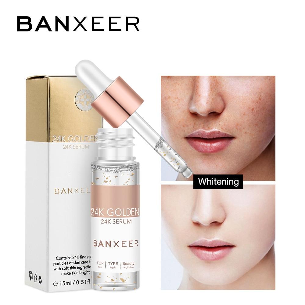 BANXEER Facial Primer Make Up Base 24K Gold Essential Oil Moisturizing Anti-aging Mix Power Foundation Cosmetics Base Maquiagem
