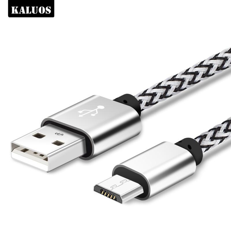 KALUOS 3m Micro USB Cable de carga para Huawei Mate 7 8...