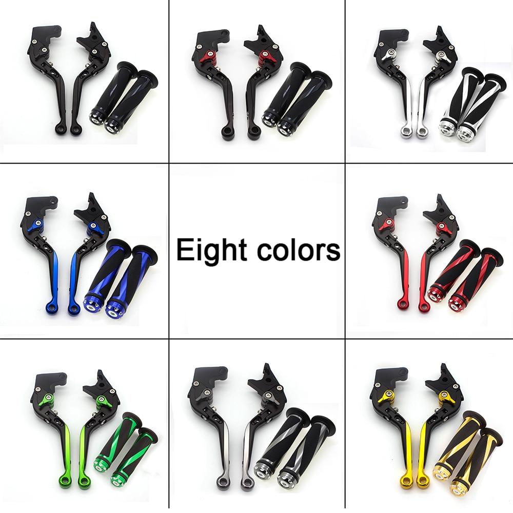 Para Aprilia TUONO R 2003-2010 CNC plegable extensible palancas de freno de motocicleta y mangos para RSV MILLE R 1999-2003