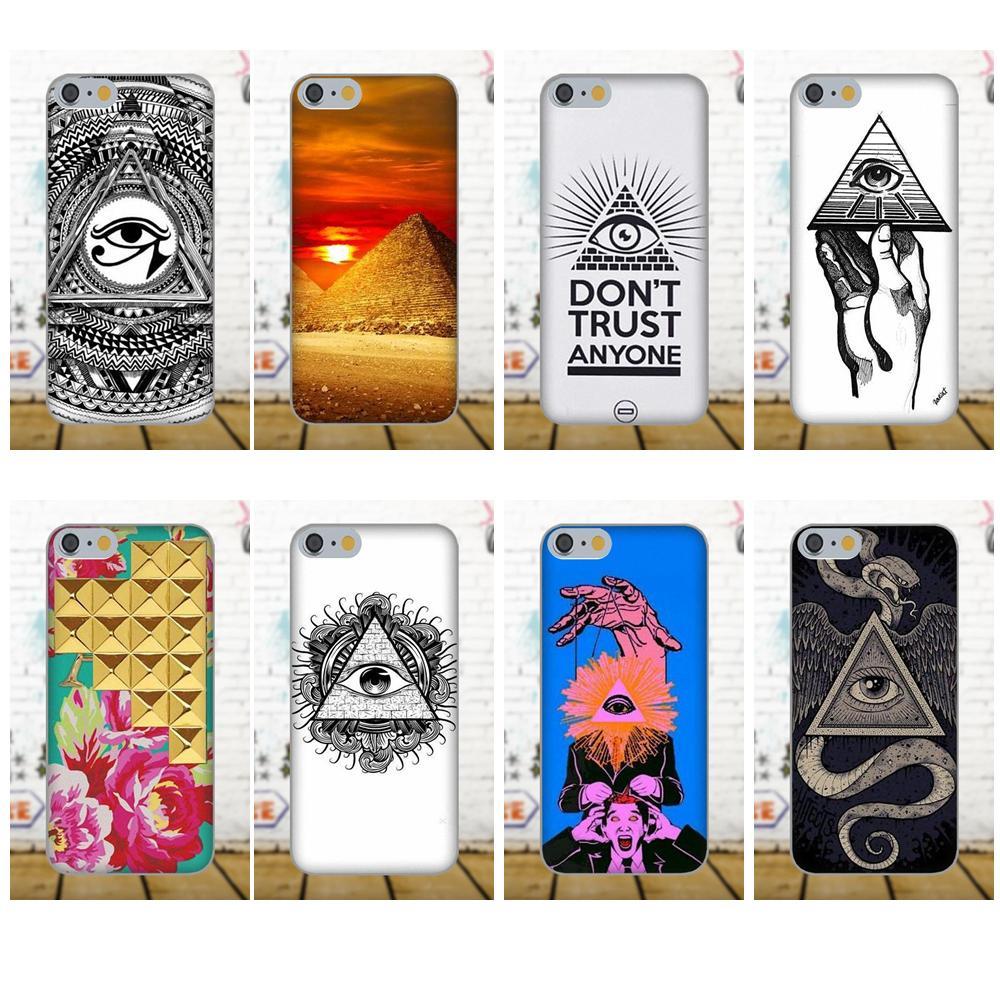 Oedmeb Pyramid Illuminati For Galaxy A3 A5 A7 J1 J3 J5 J7 S5 S6 S7 S8 S9 edge Plus 2016 2017 Soft TPU Hipster Case