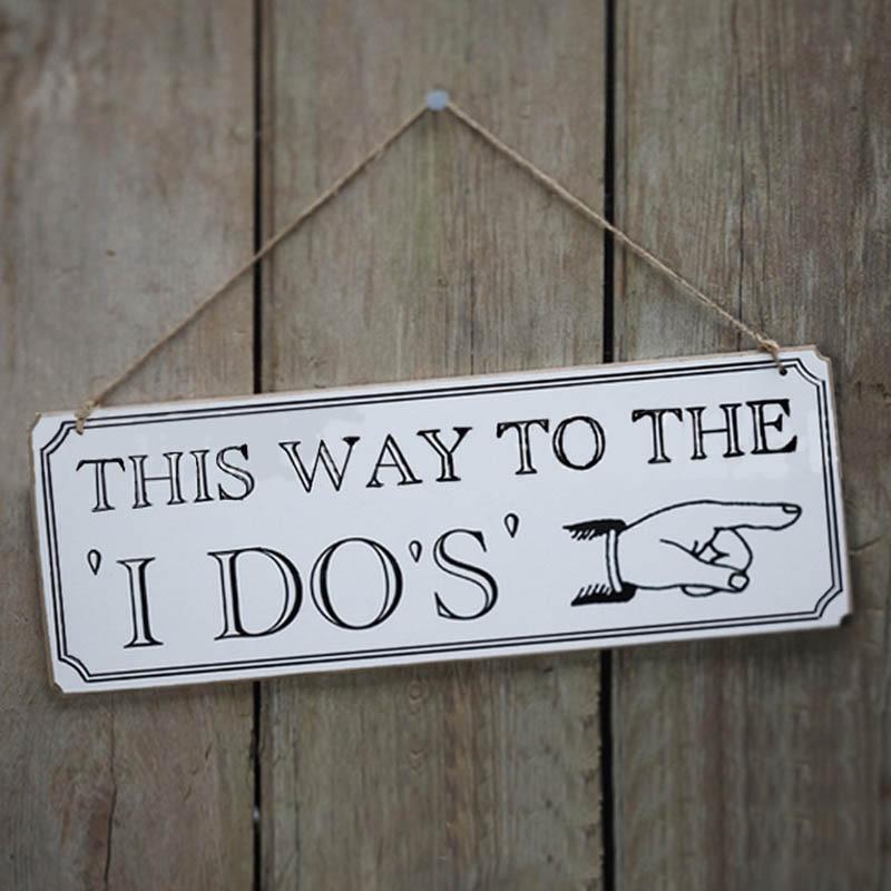 Creative Wood Board Wedding Sign Wood Wedding Directional Signs Reception Directional Arrow