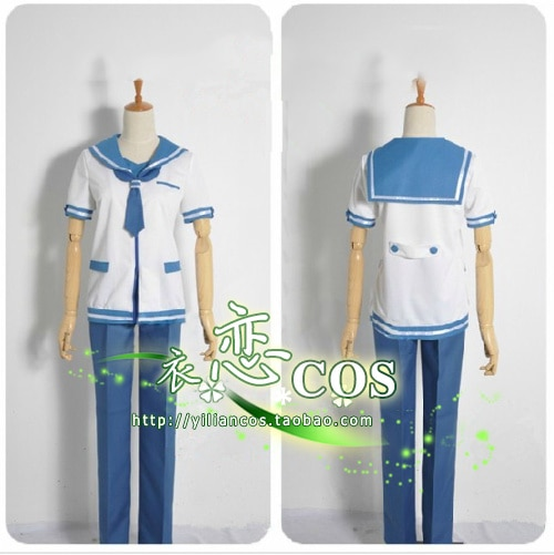 Nagi no Asukara Kaname Isaki Hikari Sakishima Part1 uniforme scolaire Cosplay Costume F008