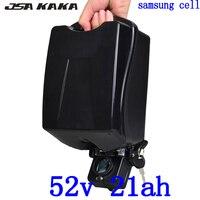 48V 52V 20AH Ebike Battery 48V 51.8V 20AH 21AH electric bicycle battery 51.8V 1000W 2000W Lithium Battery use samsung cell