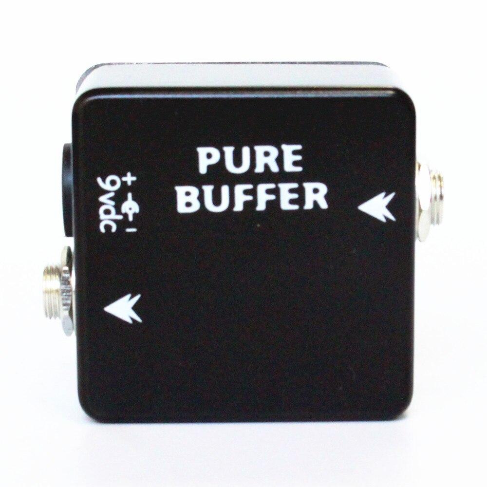 Moskyaudio puro de Mini Pedal de efectos para guitarra limpia Buffer