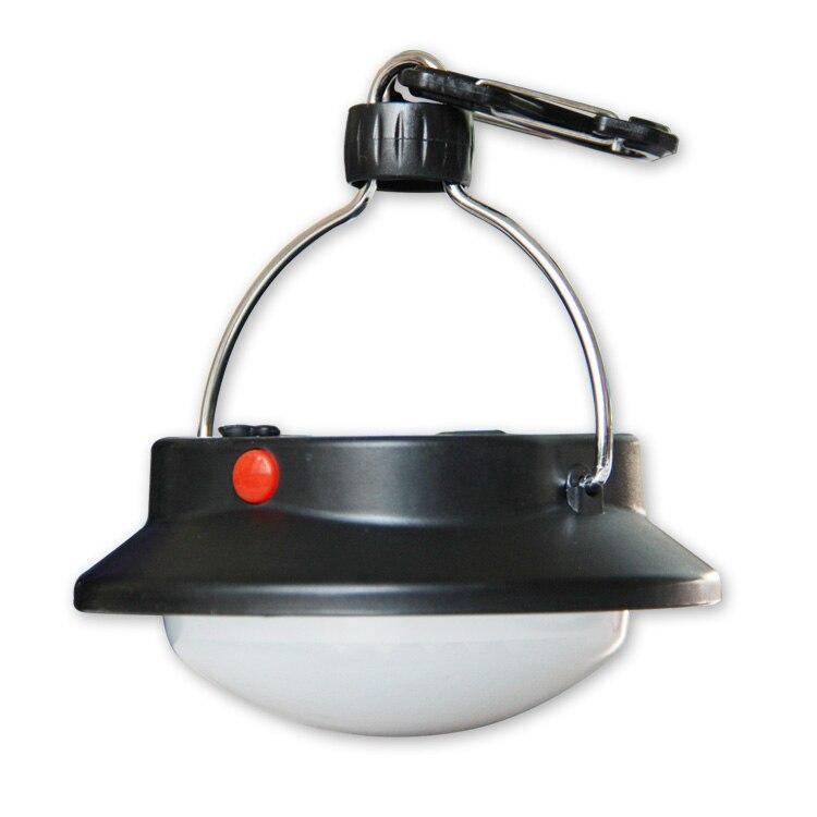 60LED lámpara de Camping al aire libre con pantalla tienda circular lámpara de Camping colgante