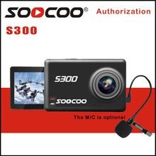 Caméra de Sport de stabilisation dimage de la caméra daction S300 de SOOCOO 4K 30FPS 2.35