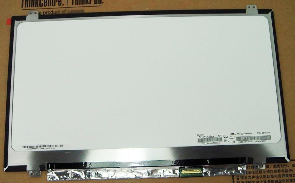 Substituto para Lenovo ThinkPad T460 FHD IPS Lcd tela Não-touch 00PA889 N140HEC-EAA