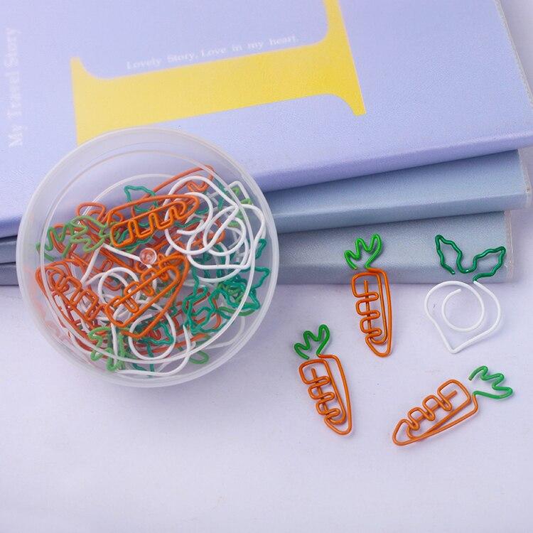 Kawaii carrot bookmark белая редиска бумажный зажим бумажная Закладка школьные милые офисные аксессуары металлические бумажные скрепки для бумаги с...