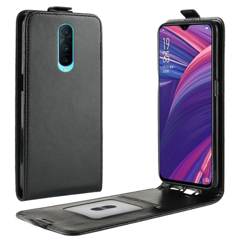 for Oppo R17 Pro for Oppo R17 WIERSS Flip Leather Case for Oppo R17 Pro for Oppo R17 Retro Wallet Ca