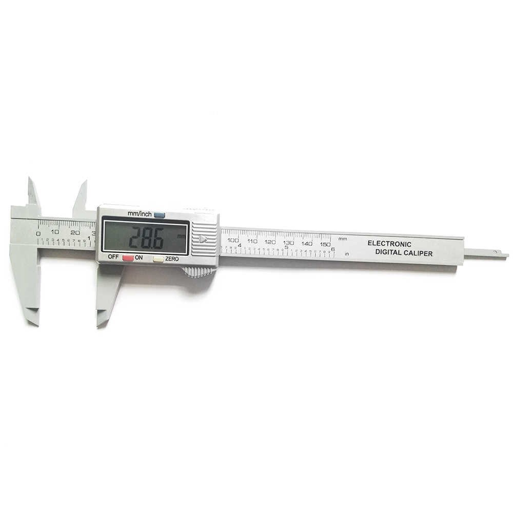 Digital Vernier Calipers Measure 150mm 6inch Lcd Electronic Carbon Fiber Gauge Height Measuring Instruments Micrometer Instrument Slide Instrument Pouchinstrument Speaker Aliexpress