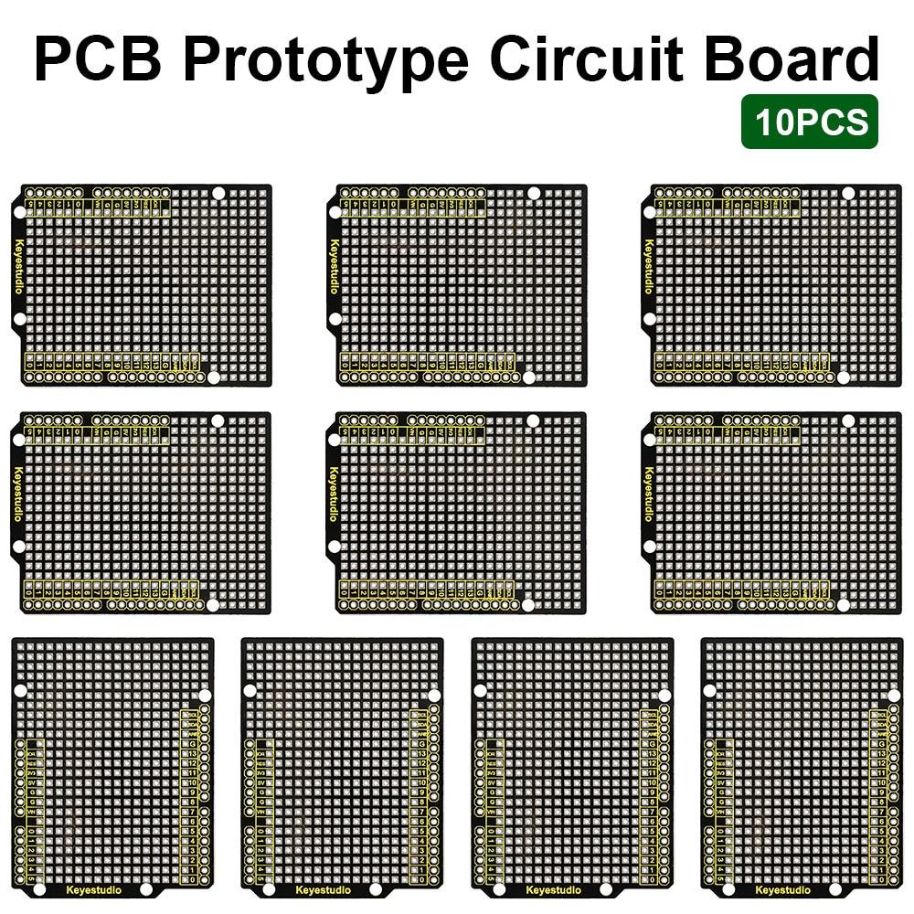 10 шт., прототип Keyestudio P CB плата для Arduino U