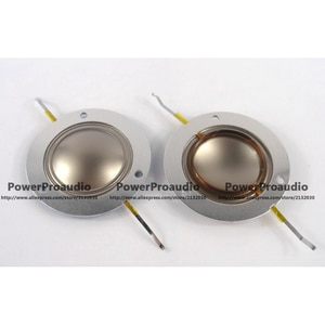2 pcs 34.5mm 34.4mm Replacement diaphragm voice coil  8 ohm  For Peavey RX14 ,14XT Horn Tweeter 8Ohm FLat Wire