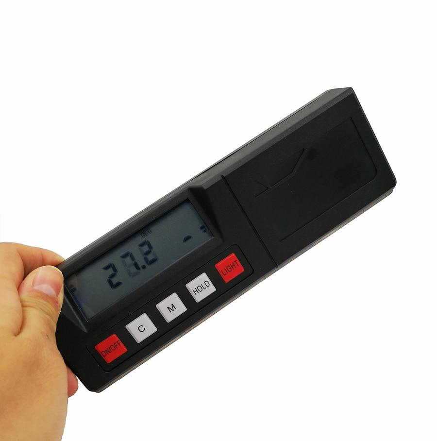 360 градусов Цифровой Инклинометр электронный транспортир Угол finder коробка уровня 4X 90 градусов высокая точность