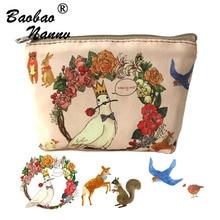 Fille Mini porte-monnaie dames Zipper artistique portefeuille sac sac à main pour enfants bolsa de moeda pièces de monnaie pochette monedero gato pour les femmes