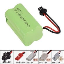 4.8v 1800mah AA NI-MH X Battery Electric toys Remote car ship robot rechargeable free shipping