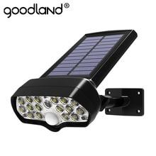 Shark Led Solar Light Pir Motion Sensor Solar Lamp Waterdicht Zonne-energie Spots Wandlamp Voor Outdoor Tuin Decoratie