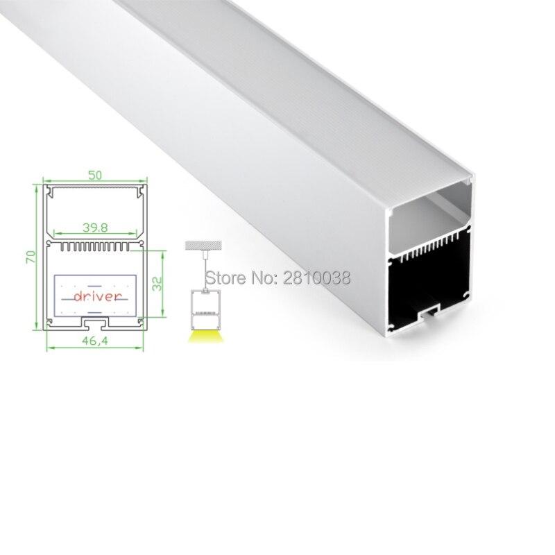 Perfil de aluminio led tipo U, perfiles de aluminio extruido con controlador...