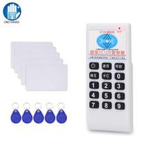 Copieur portable 125KHz / 13.56MHz RFID   Duplicateur de carte, lecteur de carte, écrivain IC T5577, UID, Keyfob reliable, NFC, programmateur réinscriptible