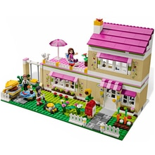 Olivias House 3315 blocs de construction modèle jouets éducatifs pour enfants amis compatibles briques Figure livraison directe