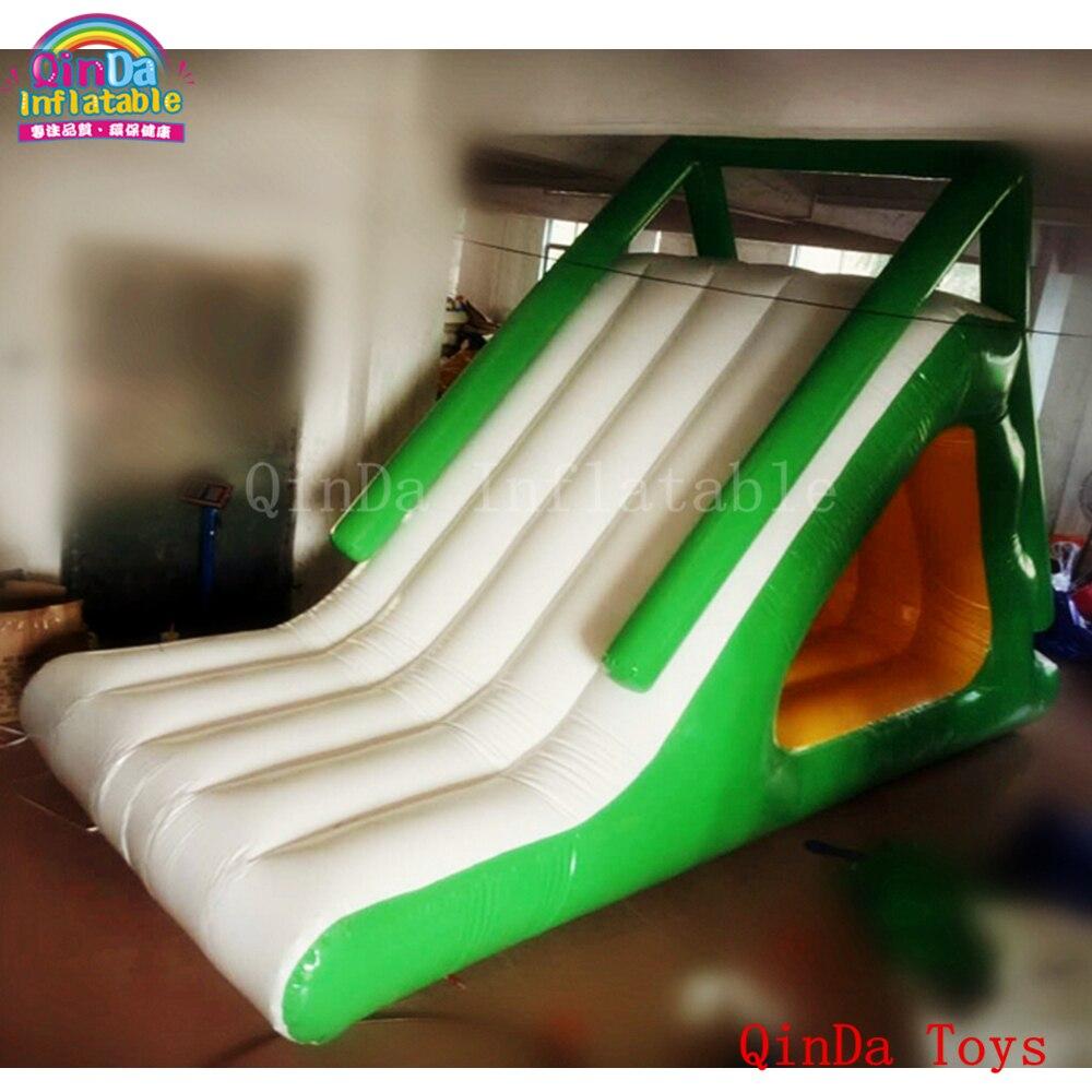 2020 Juegos Divertidos De Verano Toboganes Inflables Largos De 5m Para Niños En La Piscina Toboganes Inflables Baratos Para La Venta 15 Off