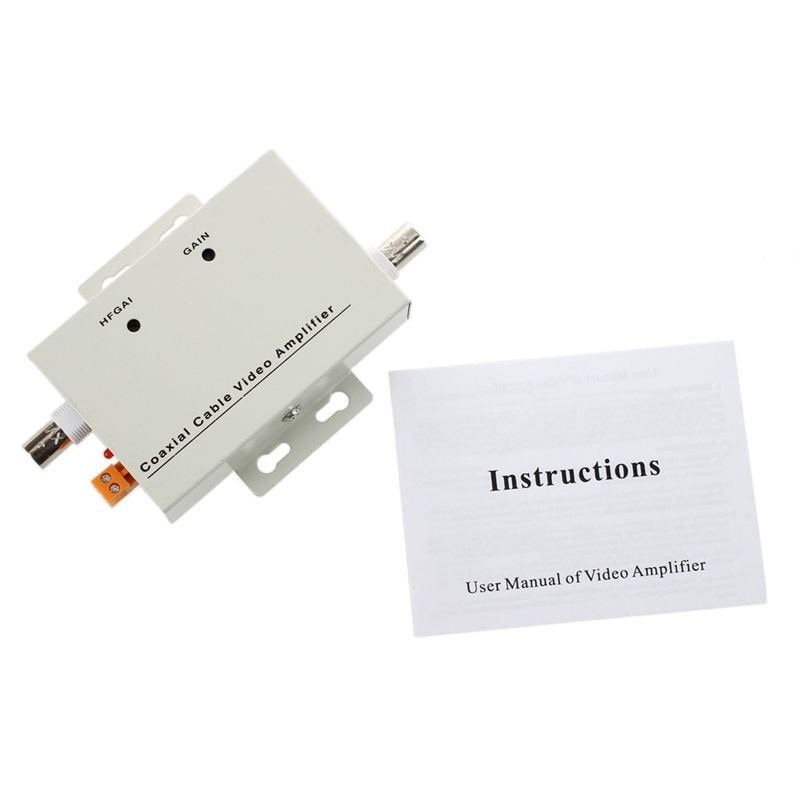 ESCAM BNC Coaxial CCTV Video Balun Amplifier for CCTV Camera enlarge