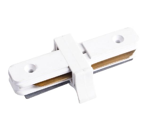 Connecteur de rail de lumière de voie, raccord de voie à 2 fils