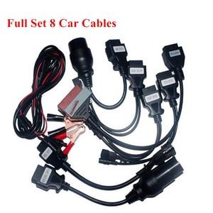 Image 1 - 8 шт., автомобильные кабели obd для delphi vd new vci для autocoms pro