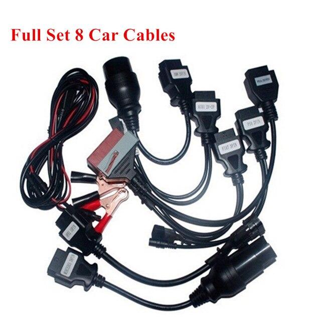 8 шт., автомобильные кабели obd для delphi vd new vci для autocoms pro