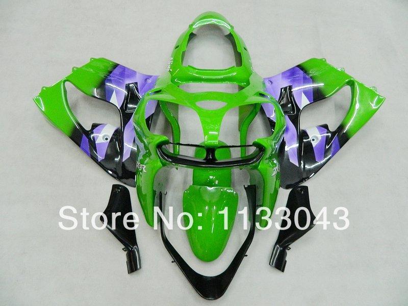 7gifts+ Green blue BLK fairing kit FOR KAWASAKI NINJA ZX9R 00-03 ZX 9R 00 01 02 03 ZX-9R 9 R 2000 2001 2002 2003 fairings #lmmh1