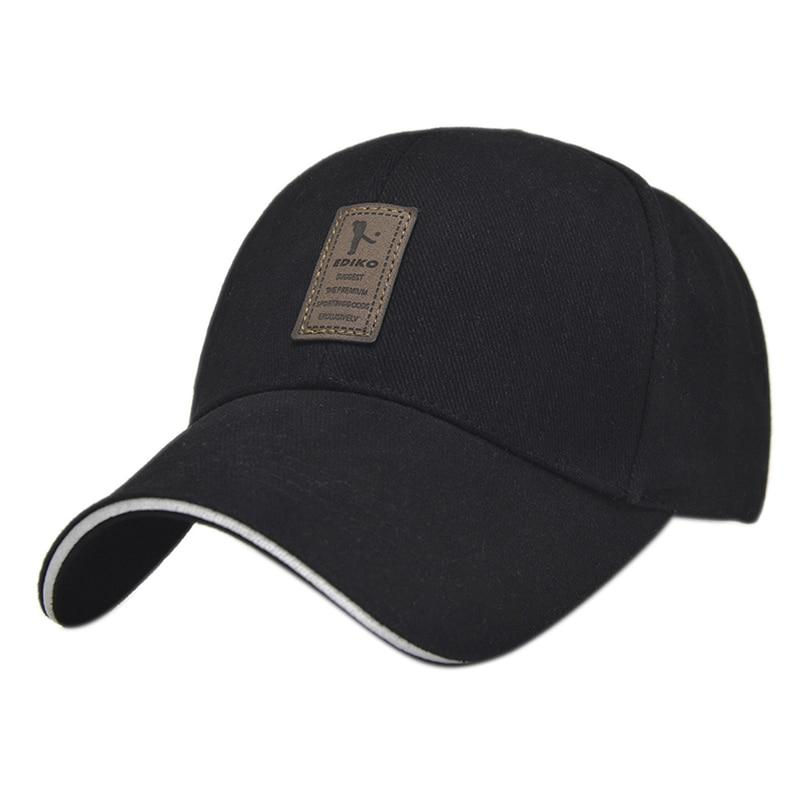 1 Uds. Gorras de algodón Snapback de moda para hombre y mujer, gorras para el sol, gorras de Golf para Gorra de béisbol de algodón, gorras deportivas para exteriores, sólidas y sencillas