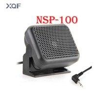 NSP-100 Mini haut-parleur externe micro Radio Mobile pour Kenwood Yaesu ICOM jambon autoradios haut-parleur
