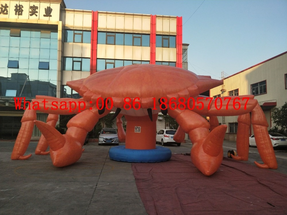 (China Guangzhou) Large inflatable cartoon, inflatable crab, inflatable lobster cartoon BY-1461