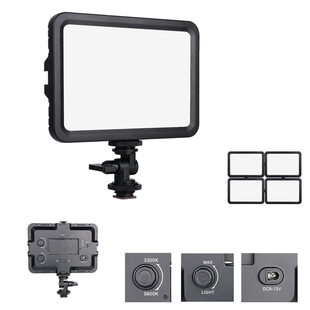 Yelangu LED-204 Bi-color Painel de Iluminação Luz de Vídeo Da Câmera para Sony Canon Nikon Pentax Olympus Panasonic DSLR câmeras Filmadora