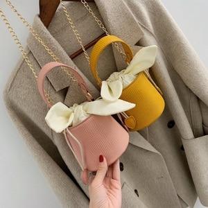 Yuhua, 2020 new women handbags, fashion woman messenger bag, leisure korean version shoulder bag, trend bucket bags.
