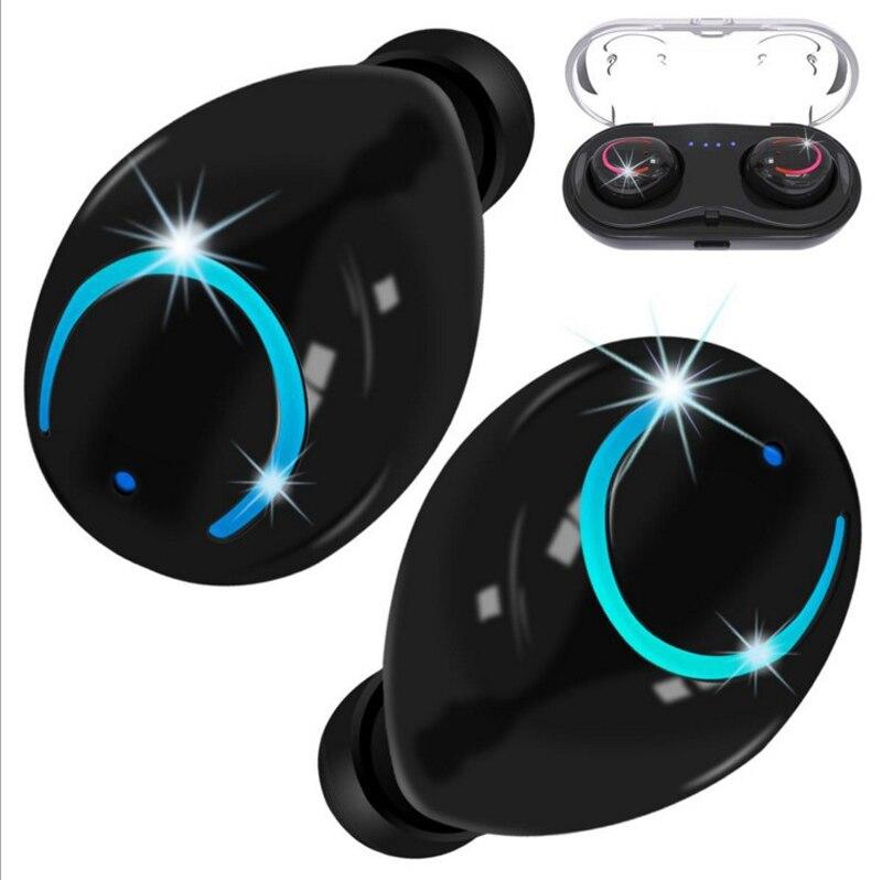 Q18 tws auriculares Bluetooth inalámbricos 4,1 estéreo Mini inalámbricos Ultra audífonos pequeños auriculares deportivos HBQ