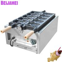 BEIJAMEI Electric Ice Cream Taiyaki Machine/Mouth Opening Fish Cake Maker Machine/Commercial Taiyaki Making Machine For Sale