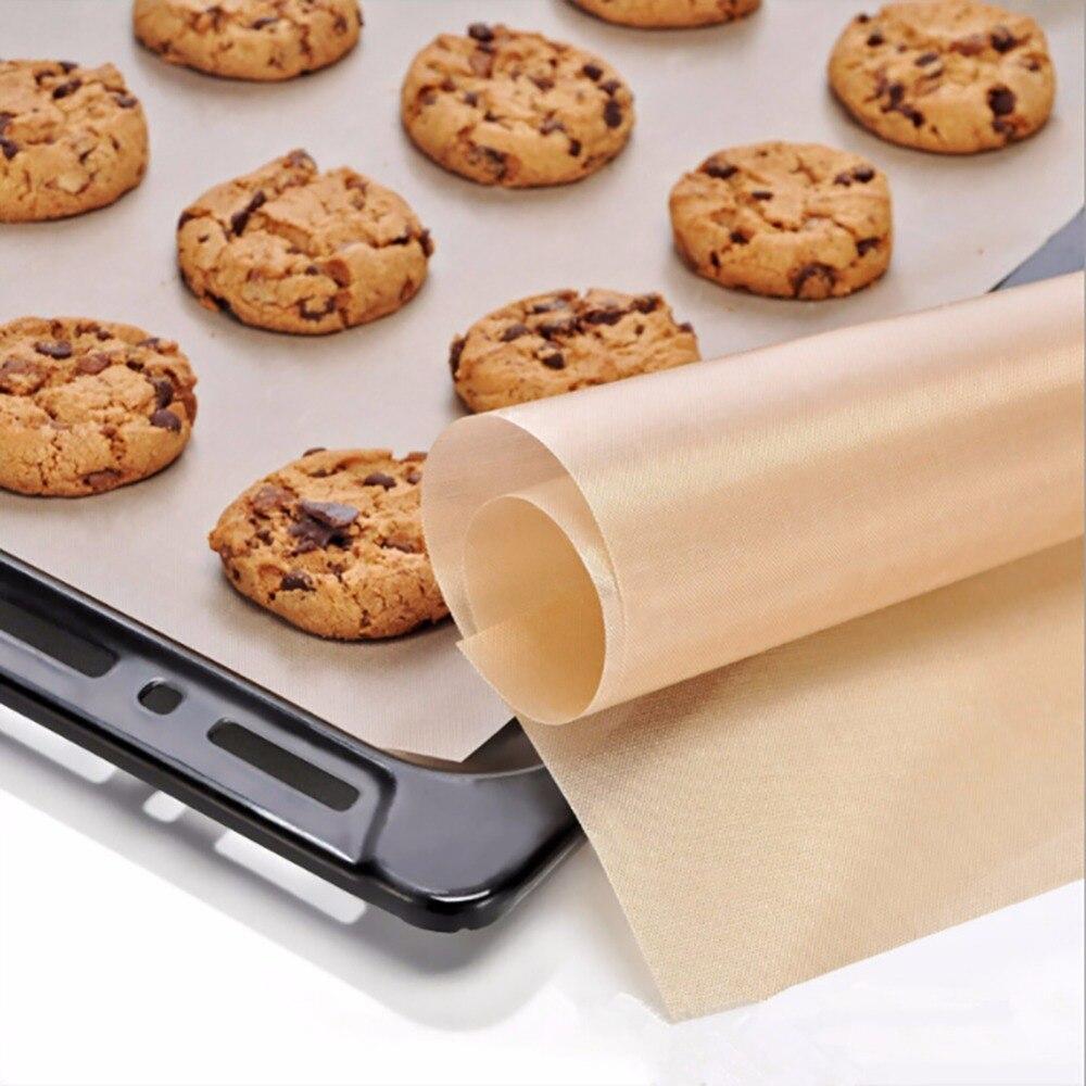 60*40cm utensilios de cocina resistencia al calor Tarpaulin teflón estera antiadherente horno de microondas almohadilla de cocina hoja para hornear